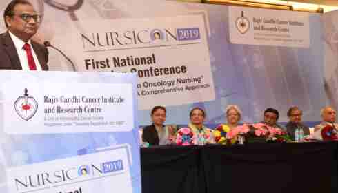 Nurses urged to step up war against cancer with innovation