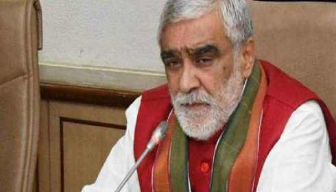 Minister of State for Health Ashwini Kumar Choubey