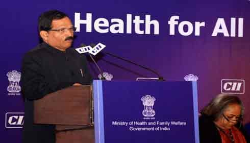 "Time to make ""Health for All"" a reality: Shripad Yesso Naik"