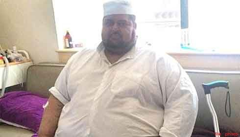 Iraq's heaviest man  with 300 kg weight undergoes bariatric surgery in Delhi