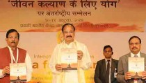 Venkaiah Naidu at Yoga Conference in New Delhi